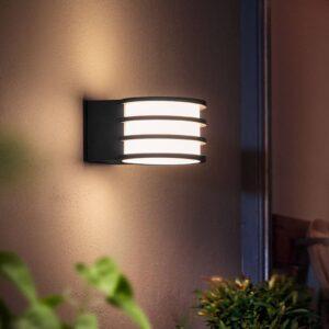 Philips Hue LED udendørs væglampe Lucca app styret