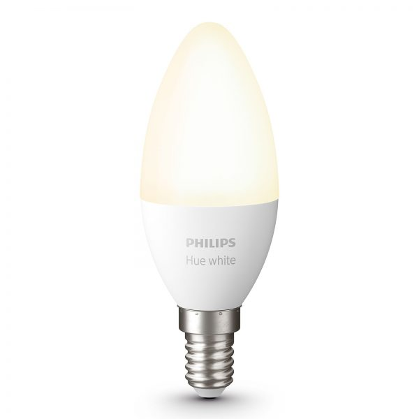 Philips Hue White 5,5 W E14 LED-kertepære