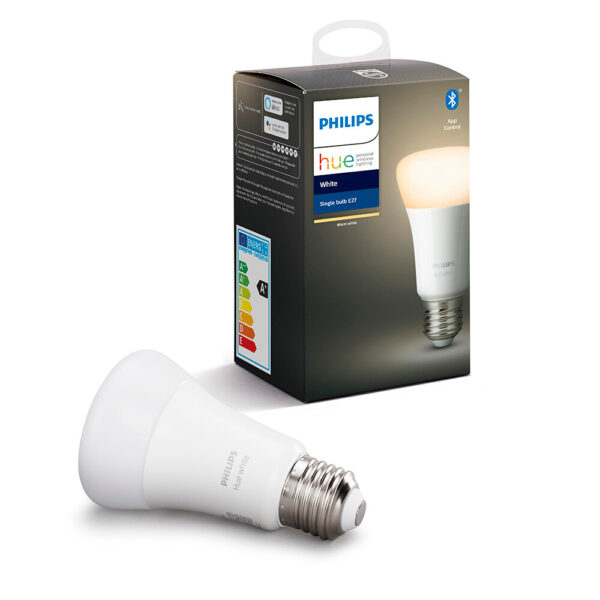 Philips Hue White 9W Bluetooth E27 Pære - Philips Hue