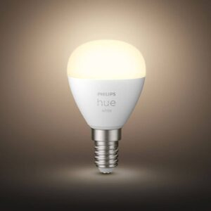 Philips Hue White LED-dråbepære 2 x E14 5,7W
