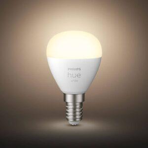 Philips Hue White LED-dråbepære E14 5,7W 2.700K