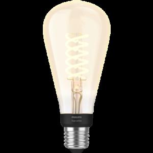 Philips Hue White LED pære 7W E27 HUEWFILST72
