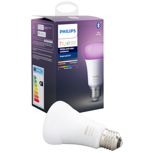 Philips Hue White and Color Ambiance LED-pære A60 E27