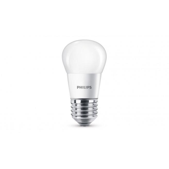 Philips LED 40W krone varm hvid E27 mat ikke dæmpbar 1 stk - 8718696505786