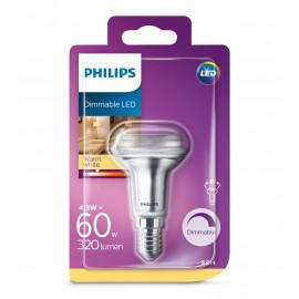Philips LED Classic 60W R50 E14 varm hvid dæmpbar 1 stk - 8718696811559