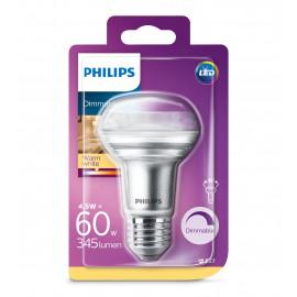 Philips LED Classic 60W R63 E27 varm hvid dæmpbar 1 stk - 8718696811597