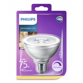 Philips LED Classic 75W par30s E27 varm hvid 25D 1 stk - 8718696713549