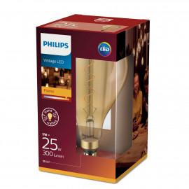 Philips LED Classic Giant Filament 25W Stor Globe E27 Guld ikke dæmpbar 1 stk - 8718696768068