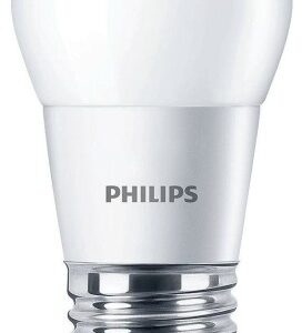 Philips LED E27 Kronepære-4W = 25W-Mat