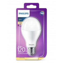 Philips LED Plast 120W standard varm hvid mat E27 ikke dæmpbar 1-stk - 8718696701614