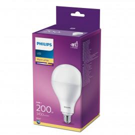 Philips LED Plast 200W standard varm hvid mat E27 ikke dæmpbar 1-stk - 8718699662240