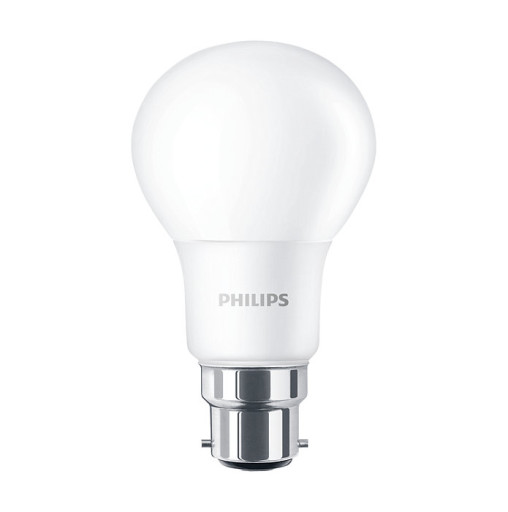 Philips LED Standard pære - B22-5,5W = 40W