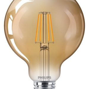 Philips LED pre Classic Globe 95 mm 4W825 35W guld E27