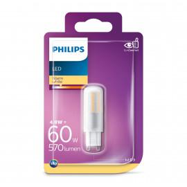 Philips LED stift 60W G9 varm klar hvid ikke dæmpbar 1 stk - 8718699657789