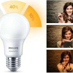 Philips SceneSwitch - Standardpære - E27 - 14W=100W