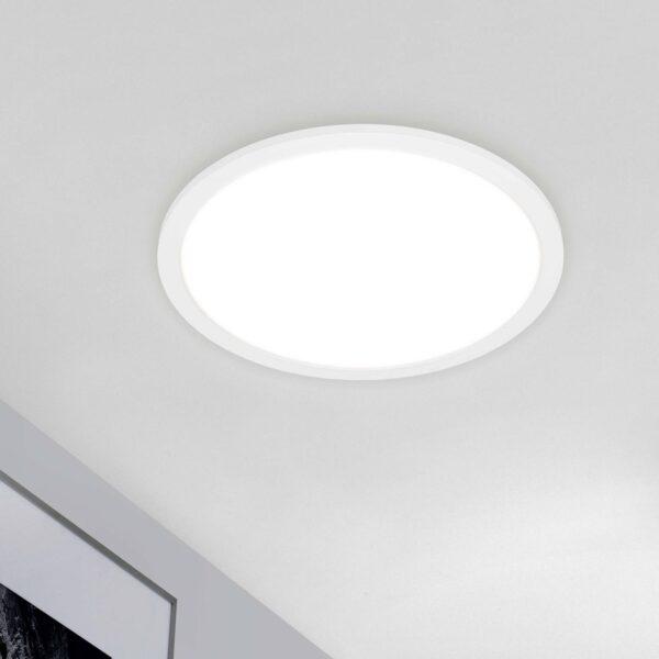 Piatto CCT LED-panel, fjernbetjening, rundt, hvidt