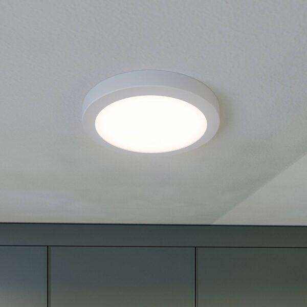 Prios Aureka LED-loftlampe, sensor, 22,5 cm