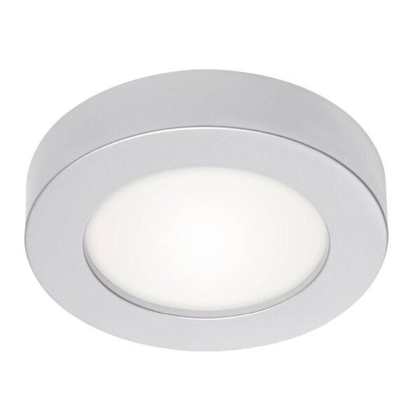 Prios Edwina LED-loftlampe, sølv, 24,5 cm