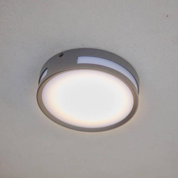 Rola LED-loftlampe til udendørs brug, rund