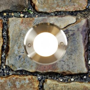 Rund LED-nedgravningslampe LED-18
