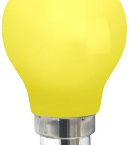 Star Trading - Farvet B22 LED Pære-Gul