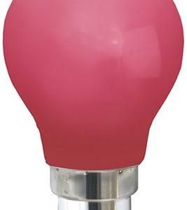 Star Trading - Farvet B22 LED Pære-Rød