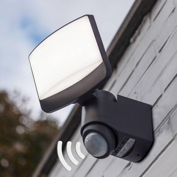 Sunshine udendørs LED-spot med bevægelsessensor