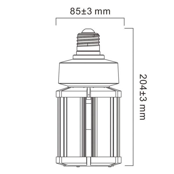 Sylvania LED-pære E27, 36 W, 4.000 K, 4.500 lm