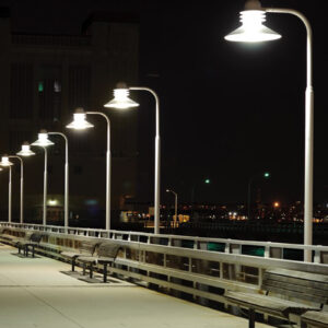 Sylvania LED-pære E40 m. PIR-Sensor 115 W 4.000 K