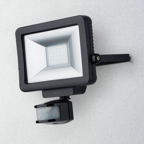 Theben theLeda B20L udendørs LED-spot, sort
