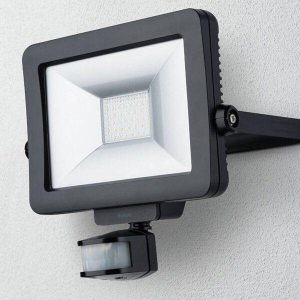 Theben theLeda B30L udendørs LED-spot, sort