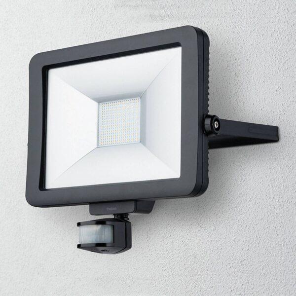 Theben theLeda B50L udendørs LED-spot, sort