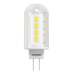 ToLEDo LED-stiftsokkelpære G4 2,2W, klar, varmhvid