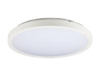 UPLOAD 250 LITE 1000lm 4000K RAL9016 er en kompakt lav påbygnings lampe med integreret driver - PROFESSIONEL