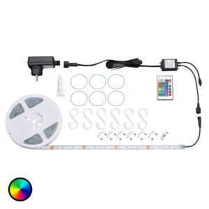 Udendørs - Ora RGB-LED-stripe med fjernbetjening