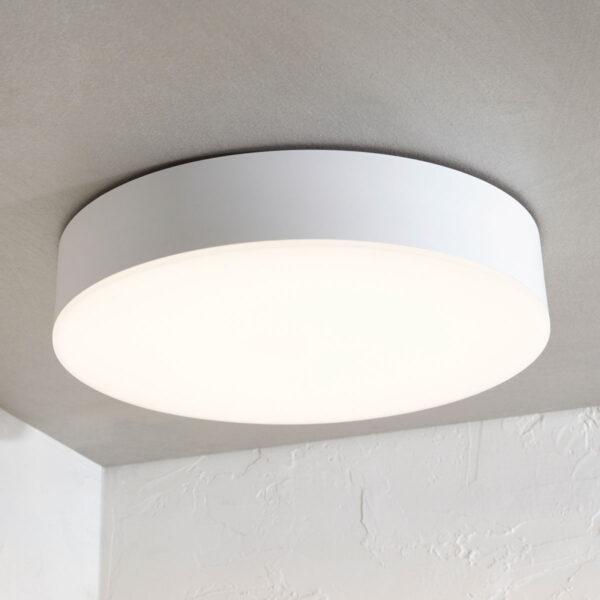 Udendørs loftlampe Lahja med LED, IP65, hvid