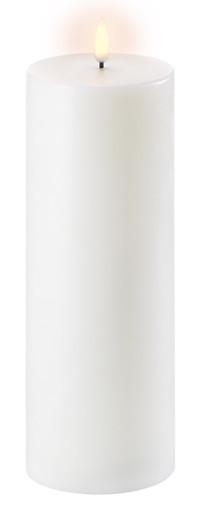 Uyuni LED Bloklys 25 cm - Hvid