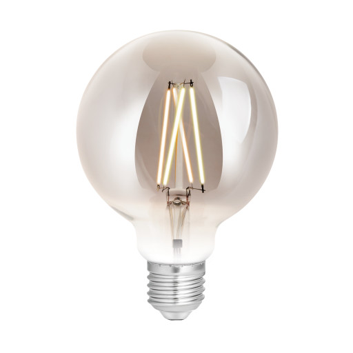 WIZ Globepære Ø9,5 LED - Filament Røg - 1-pak