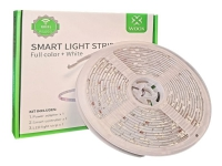WOOX Smart LED Strip 5m+Adapter RGB+WW, Alexa, Google Home