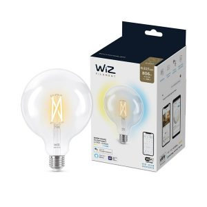 WiZ WiFiBLE E27 LED Tuneable Filament Globe Bulb