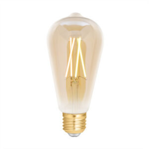 WiZ filament ST64 smartpære E27 i ravfarvet i justerbar hvid