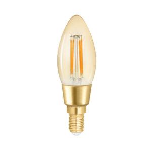 WiZ filament smartpære E14 i ravfarvet i justerbar hvid
